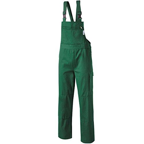 Pionier  workwear Herren Latzhose Cotton Pure in grün (Art.-Nr. 9493) grün,Größe 110