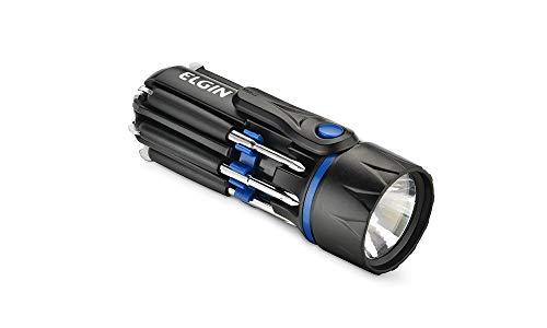 Lanterna Led Com Kit De Ferramentas Embutido 8 Em 1 Elgin No Voltagev