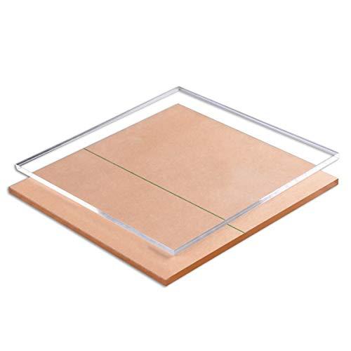 LOKIH Foglio in Acrilico Trasparente per Progetto Display Fai-da-Te, Artigianato, Sostituzione Dimensioni: 30X60cm, 1 Pz,Thick:0.3cm
