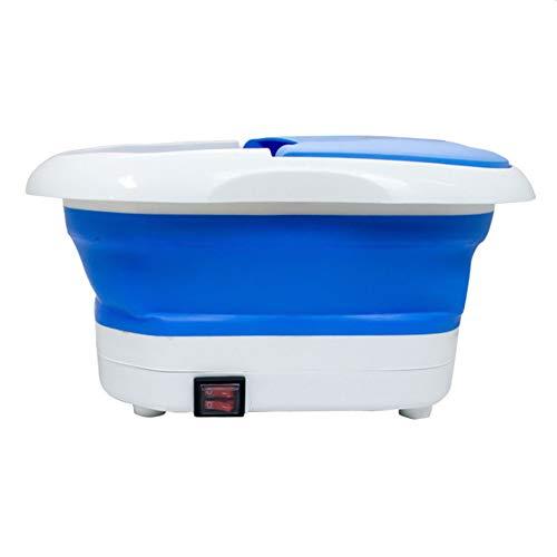 CYzpf Masajeador de Pies Baño para Bañera Eléctrico Portátil Plegable Remojo para el Uso Doméstico del Alivio del Estrés de los Cansados del Hogar