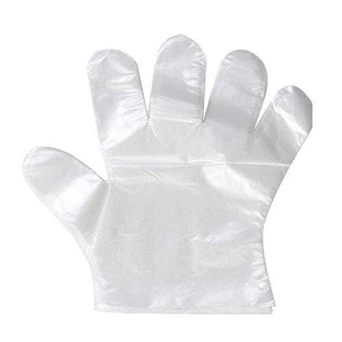 GUANTI IN POLIETILENE PER ALIMENTI Guanto monouso in PVC usa e getta - misura universale - GLOVES SMALL (PZ 10000)