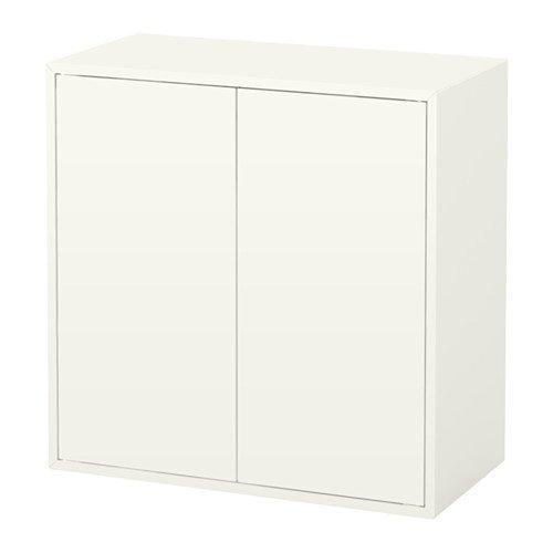 IKEA Schrank mit 2 Türen und Ablage, weiß 628.111129.226