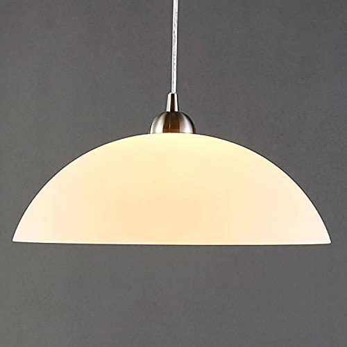 Lindby Esstisch Pendelleuchte Glas Metall   Hängelampe 1 flammig   Hängeleuchte für Esszimmer, Wohnzimmer, Küche   Esstischlampe   Glasleuchte