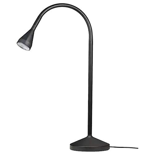 "Ikea NÄVLINGE LED Work lamp,Black(Luminous Flux: 220 lm Length: 66 cm (26"") Height: 52 cm (20"") Base Diameter: 12 cm (5""), Cord Length: 2.0 m (6 ' 7""))"