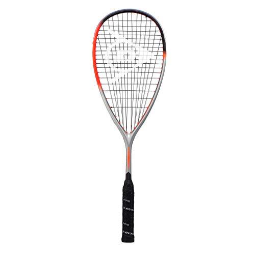 Dunlop Sports Hyperfibre Squashschläger XT Revelation 135, orange/Silber, One Size