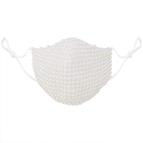 ReusableRhinestone Face Mask Clot…