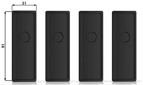 Ivality® Kennzeichenhalter Rahmenlos - Hochwertiger Magnet Kennzeichenhalter/Nummernschildhalterung Auto (Erweiterungs Set)…