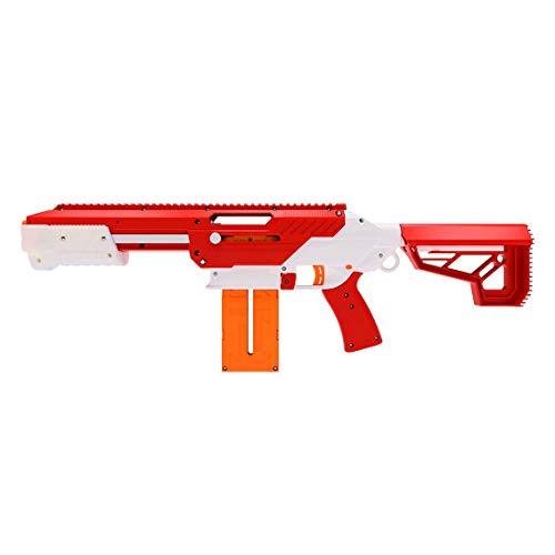 Jet Blaster 560642 - CEDA Dartblaster, Nerf-kompatibler Spielzeugblaster, Farbe: Rot