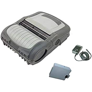RW420 Barcode Label//Receipt Mobile Printer Wireless Bluetooth 4 Inch Charger Direct Thermal Belt Clip USB Comm Port Rugged