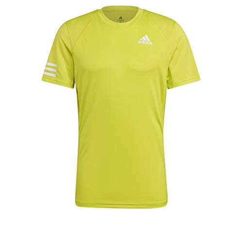 adidas Club 3str Tee Herren-T-Shirt, Herren, Unterhemd, GL5402, Mehrfarbig (Amaaci/White), L
