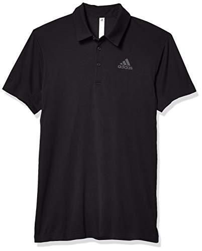 adidas Herren Heat.RDY Colorblocked Polo Shirt Hemd, Schwarz, L