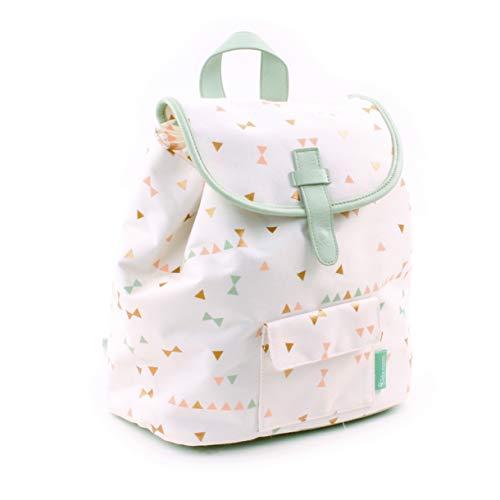 Unbekannt Backpack Kidzroom Symbolic Mint Kinder-Rucksack, 28 cm, Grün (Mint)