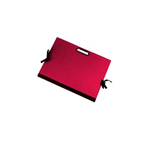 BREFIOCART cartella portadisegni c/maniglia 70x50cm rosso brefiocart