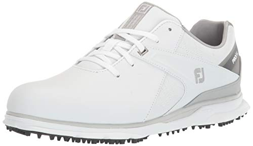 Footjoy Herren PRO SL Golfschuh, Weiß Grau, 44 EU