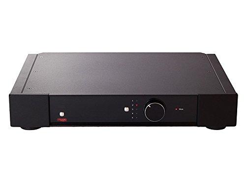 Rega Elex-r Home Wired Black Audio Amplifier–Audio amplifiers (72.5W, 90W, 164MV, 164MV, 40000Ω, Binding Post)