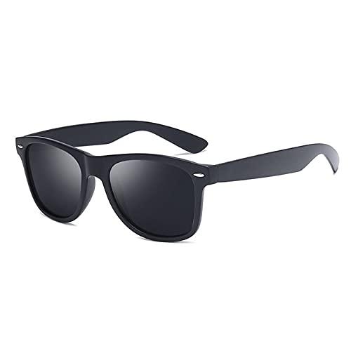 NBJSL Gafas de sol retro polarizadas para hombre, gafas de sol para hombre, gafas de sol para hombre, diseñador de marca de lujo barato, Vintage, UV400