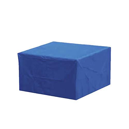 LJWLZFVT Funda para Muebles de Jardín Impermeable 210DFunda para Mesa para Mobiliario de Exterior MesaFunda para Muebles de Jardín(azul213x132x70cm)-Azul 123x61x72cm