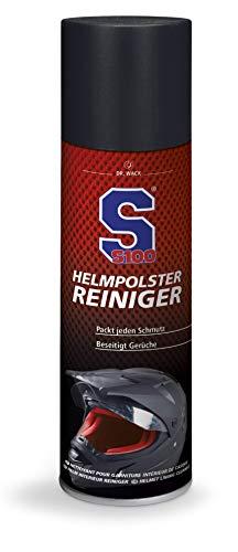Dr. 2160 Wack S100 - S100 Helmpolster-Reiniger 300 ml I Premium Helm-Reiniger für Innen I Helm-Desinfektion & Geruchsentfernung I Hochwertige Motorradpflege –