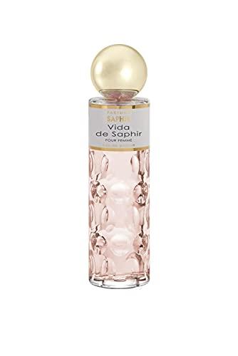 PARFUMS SAPHIR Vida - Eau de Parfum con vaporizador para Mujer - 200 ml