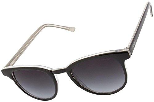 KOMONO Unisex-Erwachsene FRANCIS Brillengestelle, Schwarz (Black/ivory), 48