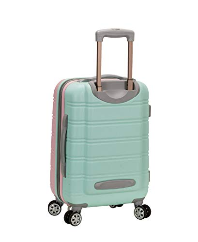 Rockland Melbourne Hardside Expandable Spinner Wheel Luggage, Mint, Carry-On 20-Inch