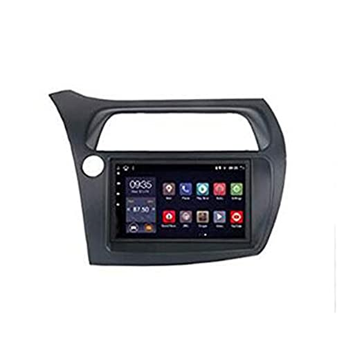 HP CAMP Android 9.0 Car Stereo 9' GPS Navigatore Satellitare per Honda Civic Hatchback 2006-2011, Autoradio Multimedia Supporto TPMS/Dab/Mirror Link/Bluetooth/AUX/USB/Google,WiFi 1G+16G