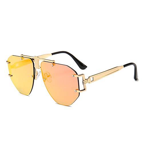 JLC Gafas de Sol Hombre Mujer UV400 Protección Gafas de Sol Polarizadas,E