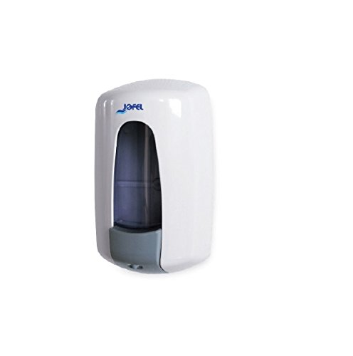 Seifenschale mit seitl. Wand Seifenspender Seifenspender Gel Modell Aitana Jofel. Kapazität 0,9Lt