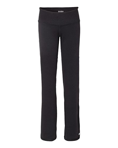 Champion B920 Women's Performance Yoga Pants, Black, Large