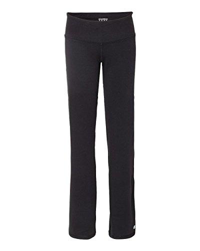 Champion B920 Women's Performance Yoga Pants, Black, X-Large