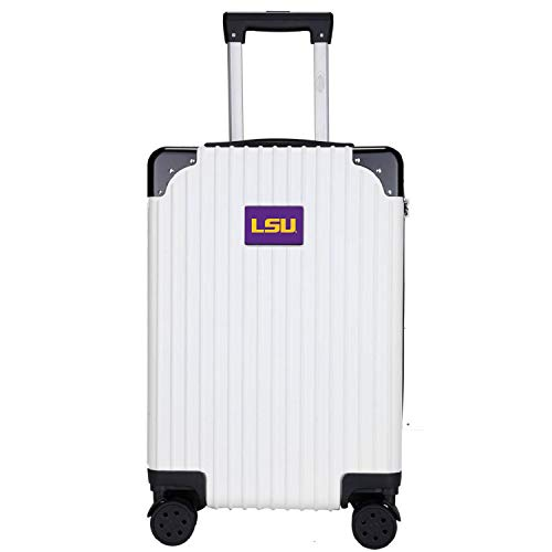 Great Price! Denco NCAA LSU Tigers Two-Tone Premium Carry-On Hardcase Luggage Spinner