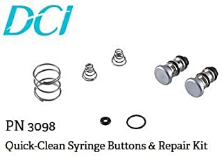 Quick-Clean Syringe Buttons & Repair Kit
