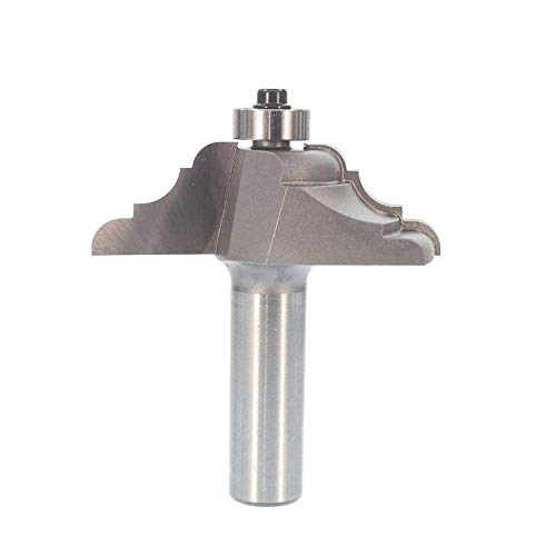 Whiteside Router Bits 3300 French Baroque Table Edge Bit with 2-1/4-Inch Large Diameter and 3/4-Inch Cutting Length