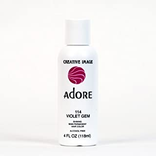 Adore Creative Image Hair Color #114 Violet Gem by Adore [Beauty]