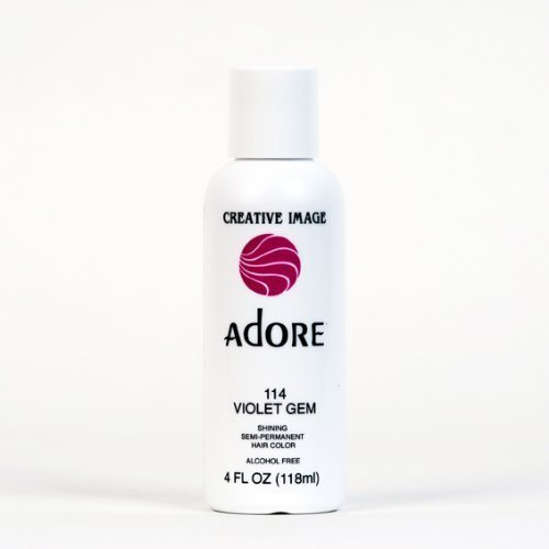 Adore Creative Image Hair Color quality assurance Purchase #114 by Gem Beauty Violet