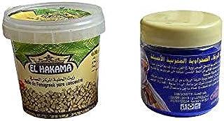 Duo Premium Indigo for hair and skin + Original fenugreek butter for Skin/النيلة الزرقاء المغربية الأصلية + زبدة الحلبة ال...
