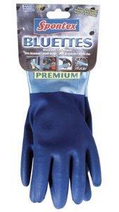 Spontex Neoprene Bluettes Gloves 100% Cotton X-Large Blue Carded