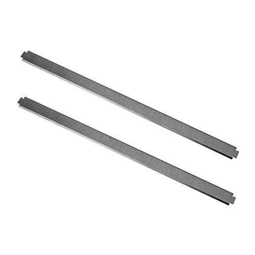 POWERTEC 12807 HSS Replacement 13 Inch Planer Blades for the Ridgid Planer TP1300, TP1301, TP1302, Replacement AC8630 – Set of 2 | 2 Knives