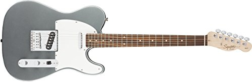 Squier de Fender - Guitarra eléctrica Squier Fender Affinity Telecaster para zurdos,...