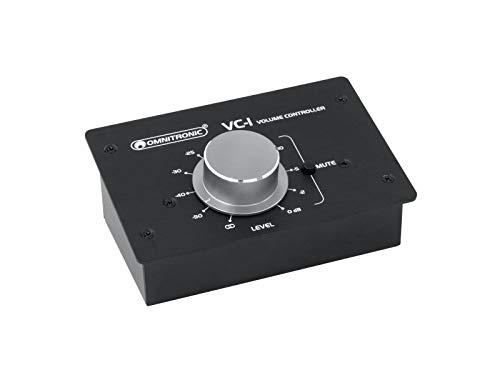 OMNITRONIC VC-1 Lautstärkeregler, passiv | Passiver Stereo-Pegelregler