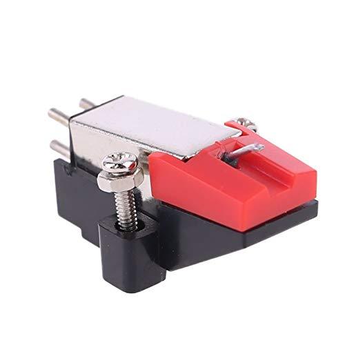 SHIZHI Phonograph Turntable Dual Mover Mone Imán Estéreo Vinilo Record Player Stylus Aguja