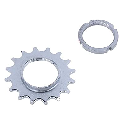 Inzopo Fixie Track Sprocket Fixed Gear Single Speed Cog Threaded Lock Ring 13T-18T 13T