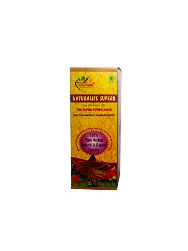 Poojay Pharma Naturalife Superb The Super Power Juice - Health Supplement (16.9 Fl Oz)