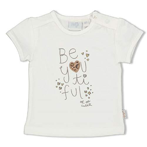 Feetje Baby meisjes korte mouwen shirt 651 in wit