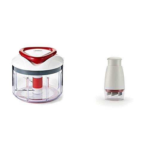 ZYLISS Easy Pull Food Chopper and Manual Food Processor - Vegetable Slicer and Dicer - Hand Held & Zick-Zick Classic Food Chopper