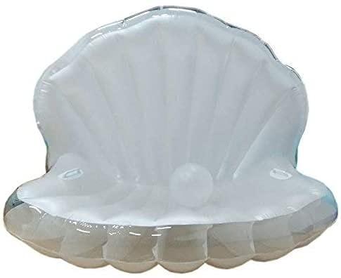 QUQU Silla Shell Flotante Inflable Fila Flotante Boya natación Inflable Anillo Bañera Anillo Flotante Fila Fiesta en la Piscina de Juguete Adecuado for Adultos y niños