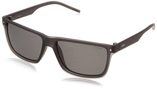 Polaroid PLD 2039/S Y2 MNV 57 gafas de sol, Gris (Grey/Grey Pz), Hombre