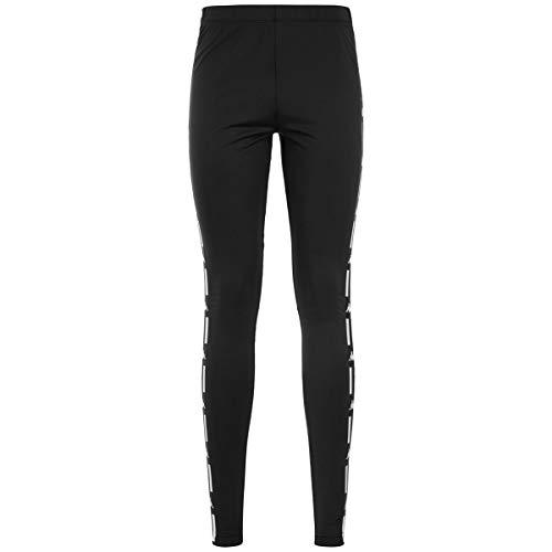 Kappa Authentic La Baward Leggings Damen schwarz/weiß, M