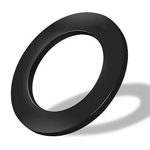 one80 professional perfection Dart schutzring,dartscheiben Schutz für die Wand,Dart sourrounding Anzug für 45-Zentimeter Dartscheibe Schwarz