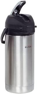 Bunn 36725-0000 Lever Action Airpot - 3.8 Liter Capacity, 17-5/8